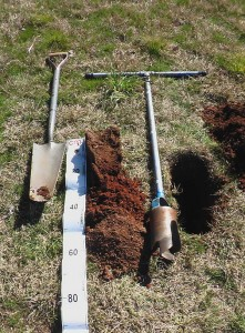 Soil audit for Landscape gardens